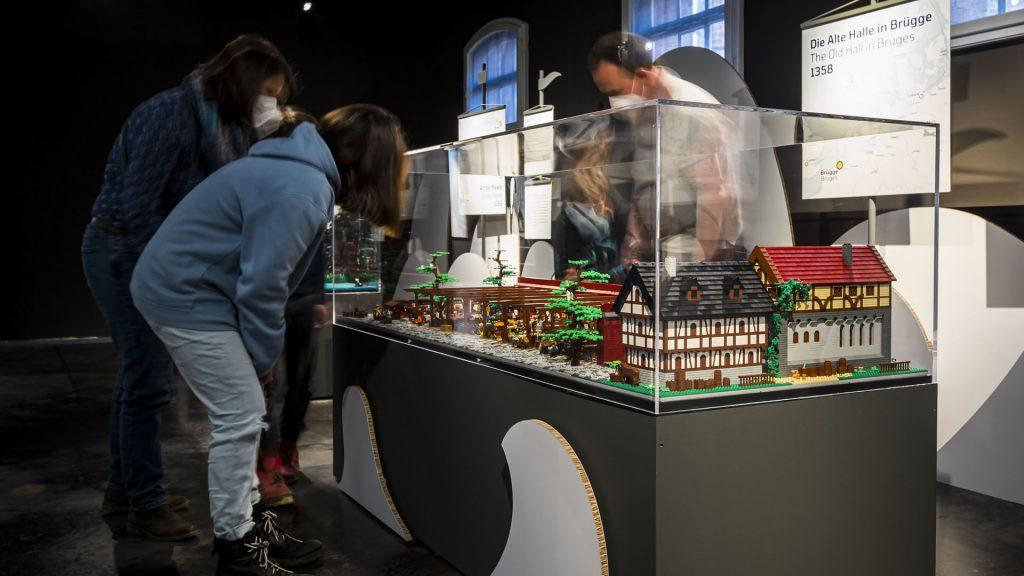 """LEGO-Diorama """"Die alte Halle in Brüggen"""""""