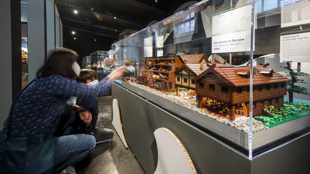 """LEGO-Diorama """"Das Kontor in Bergen"""""""