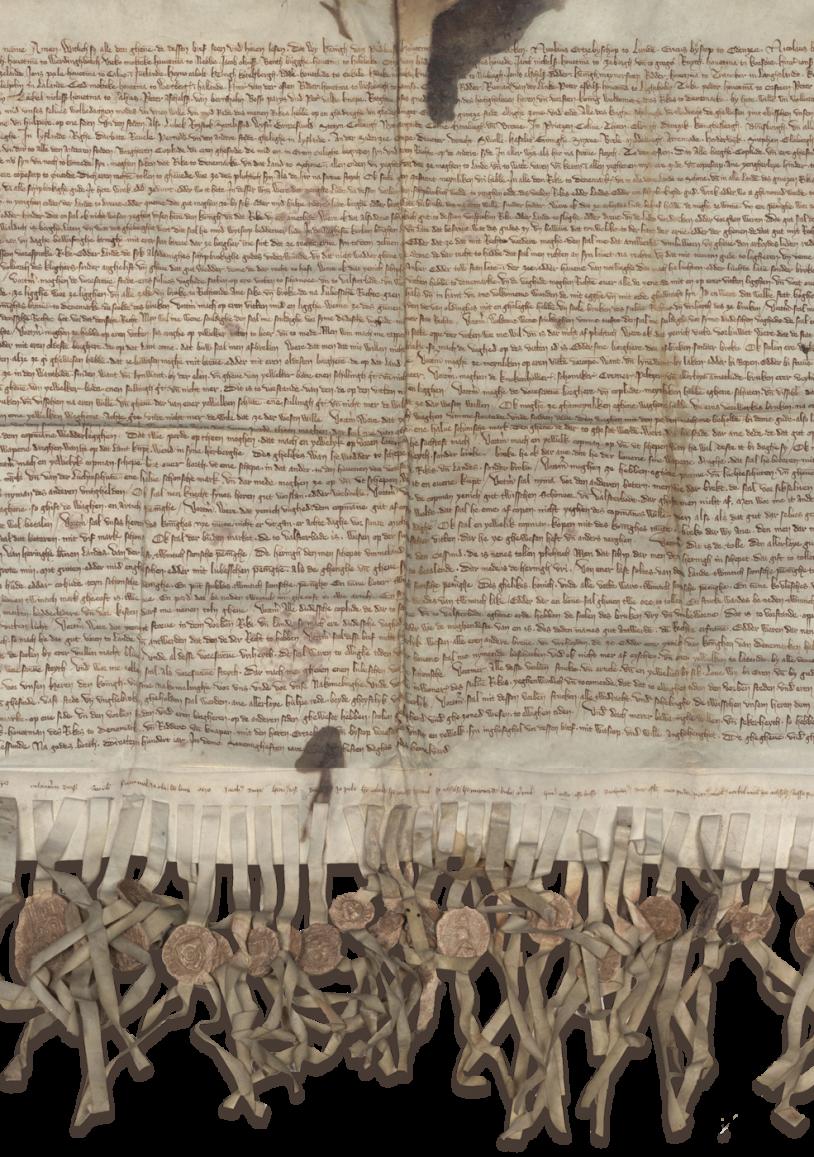 Friedens und Privilegienvertrag, Stralsund, 24.05.1370